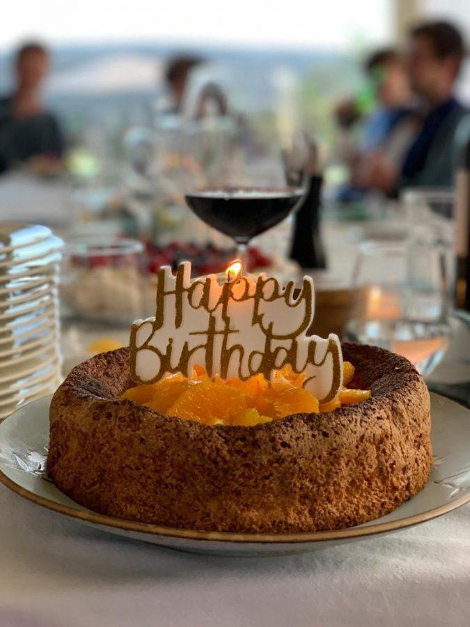Phenomenal Orange And Almond Torta Birthday Cake Balanced Nutrition Personalised Birthday Cards Vishlily Jamesorg